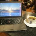 ThinkPad X240s とエスプレッソ ハワイ コーヒー or ティー?