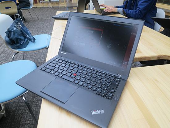 ThinkPad のキーボードは打ちやすくて耐久性がある