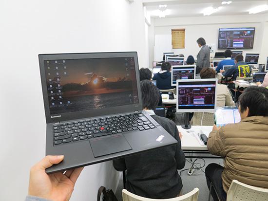 ThinkPad X240sで動画編集は快適