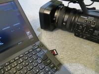 撮影中に慌ててSDカードからThinkPad X240sへデータ移動