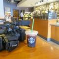 ハリウッドのスタバでコーヒーブレイク
