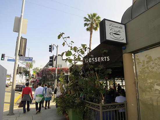 Fratelli Cafe ロサンゼルス メルローズ