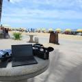 ハワイのワイキキビーチでThinkPad X250をテザリング