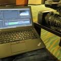 ThinkPad X250 IPS液晶だと動画編集も色鮮やかできれい