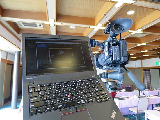 セミナー第1部が終わったのでThinkPad X250を使って動画書き出し