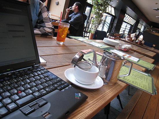ThinkPad X60sの頃はIBMのロゴだった