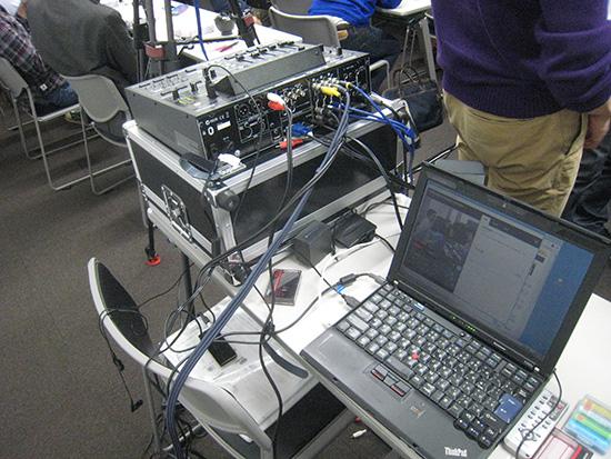 ThinkPad X200sを使ってUSTREAM配信