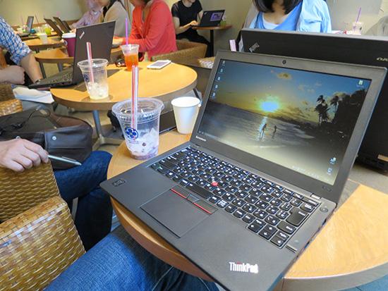 ノートパソコンを持ち運んで仕事に使うなら・・・