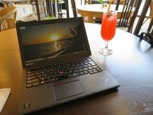 ThinkPad X250 のバッテリー駆動時間が9時間以上 3店舗はしごしながら使ってみた