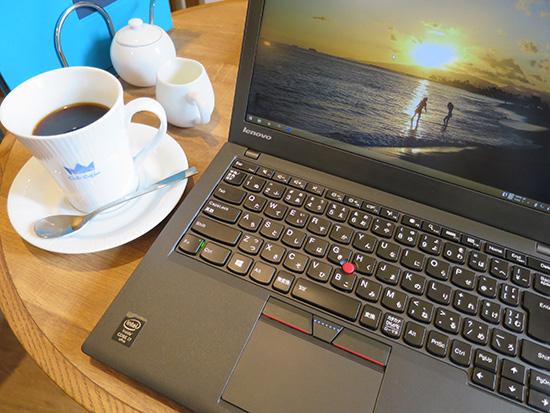 ThinkPad X250とコーヒー