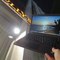 麻布十番駅前タリーズのテラス席でThinkPad X250
