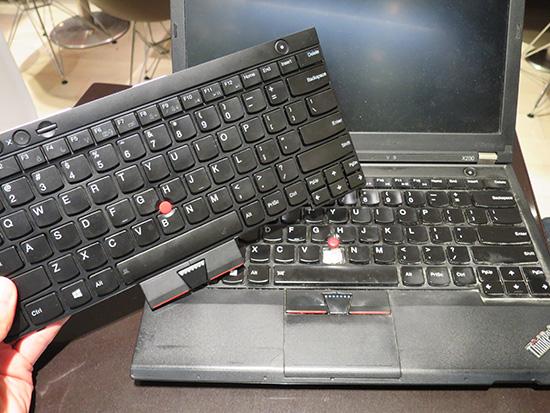ThinkPad X230 のキーボード交換は簡単にできる