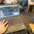 Thinkpad X250 羽田空港国内線のラウンジで無料WIFIにつなげてみた