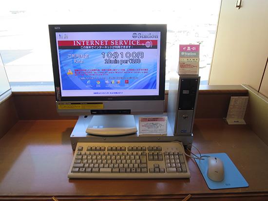 羽田空港の国内線ラウンジでPC98のキーボードに出会った