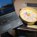 近江町市場でのどぐろひつまぶしとThinkPad X250