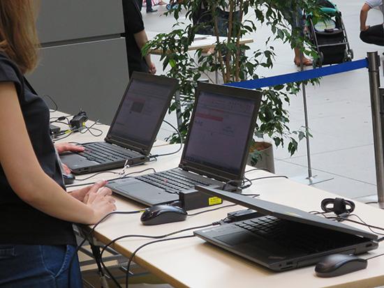 ビジネス現場のレンタルノートパソコンはThinkPadをよく見かける