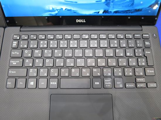 XPS 13 Graphic Pro のキーボード エンターキーがやたら小さい