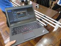 ノートパソコンで動画編集 イベント会場でThinkPad X250