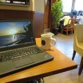 ThinkPad X250 横浜駅 京急線ホームにあるタリーズにて