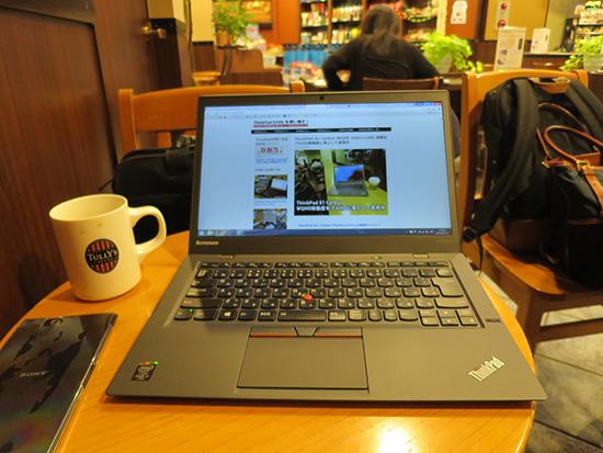 ThinkPad X1 Carbon 動画や写真を扱うなら液晶はIPS対応のWQHDがおすすめ