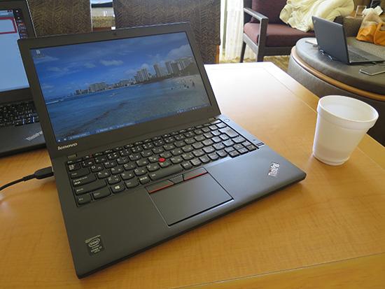 ThinkPad X250 ワイヤレスLANドライバを最新のものに更新