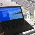 新極真空手ドリームカップ 東京体育館会場でThinkPad X250