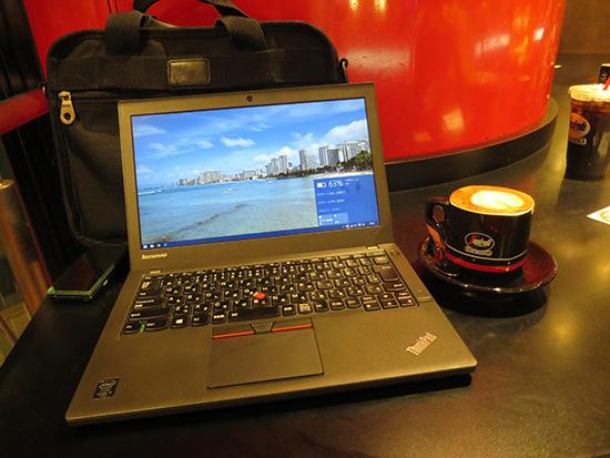 ThinkPad X250でWindows10を使って1週間大きなトラブルは今のところない