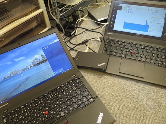 ThinkPad Stack ワイヤレスルーター X250とX240s