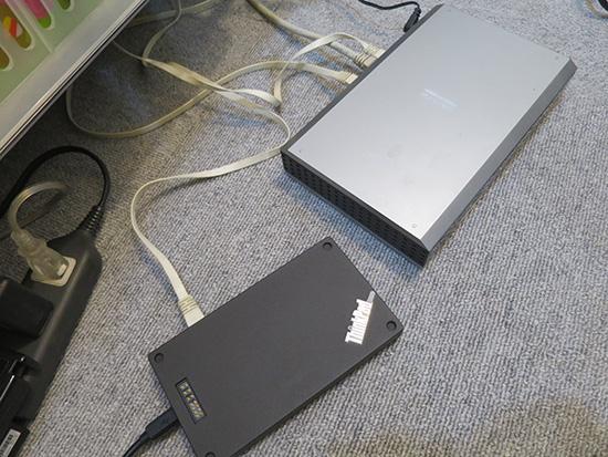ThinkPad Stack ワイヤレスルーター からブロードバンドルーターにつなげる
