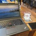 ThinkPad X250 windows10にして出先での起動がさらに快適に