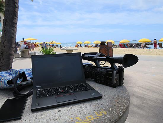 12月はThinkPad X250と一緒にハワイへ