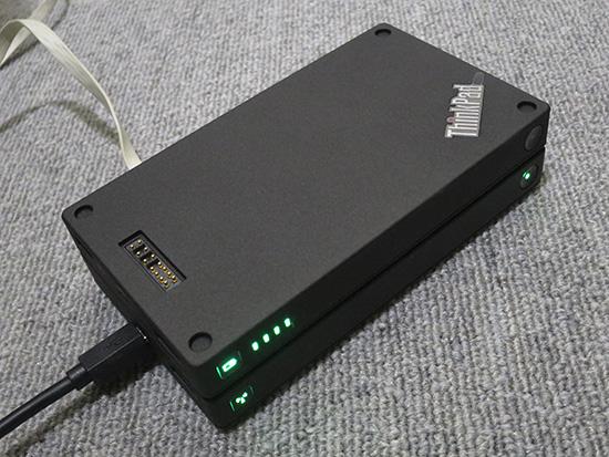 ThinkPad Stack 10000mAh パワーバンクの最大の利点は・・・