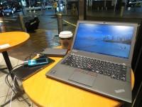 ThinkPad X250とThinkPad Stack パワーバンク 10000mah