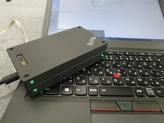 ThinkPad Stack ワイヤレスルーターと1TBとHDDがあれば簡易ファイルサーバーとして使える