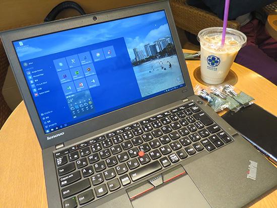 ThinkPad X250 初期導入OSがWindows10になった