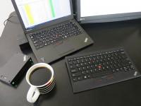 淹れ立てコーヒーとThinkPad X250 周辺機器