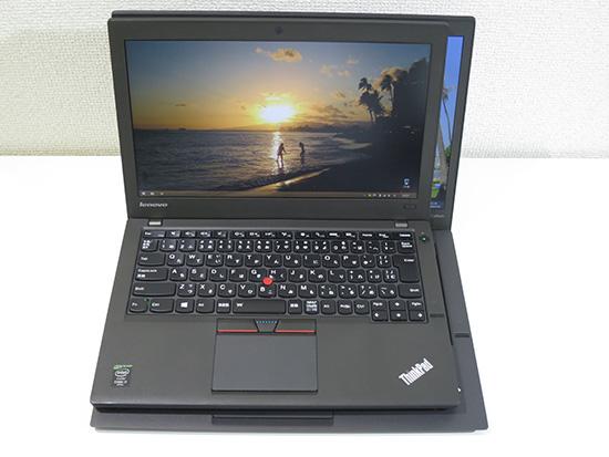 ThinkPad X250 とX1 Carbonを重ねてみる