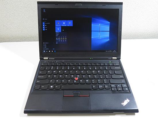 ThinkPad X230 故障から復帰!キーボードを掃除中