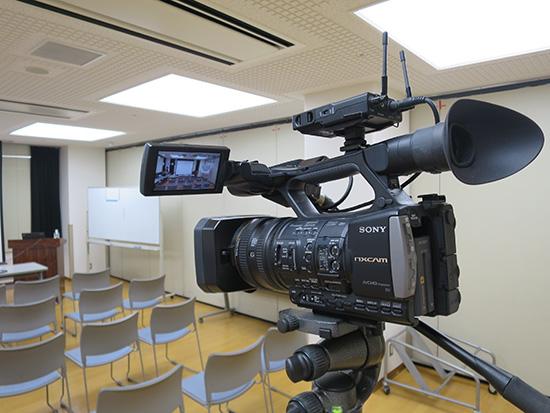 HXR-NX3で映像撮影のお仕事