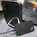 ThinkPad Stack とバッファローのハイパワールーター 電波の強さはどうなのか比べてみた