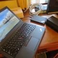 旅先にはThinkpad X250とThinkPad Stack