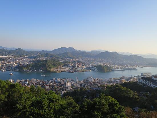 尾道千光寺公園からの眺め