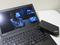 海外連続ドラマを見るならThinkPad Stack ブルートゥーススピーカーが便利