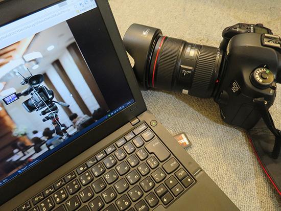 EOS 5D MarkIIIのSDカードをThinkPad X250へ写真を取り込み