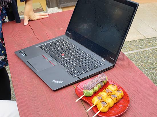 ThinkPad X1 Carbon 2015を持ち運んで山中温泉へ