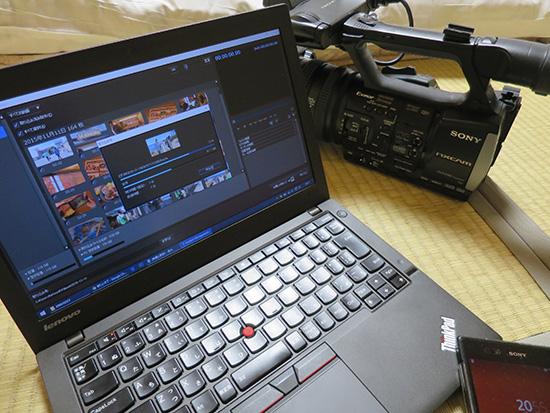 ThinkPad X250で動画編集CPUの種類にこだわるよりもSSDがおすすめ