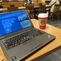 東京ビッグサイトのスタバでThinkPad X250