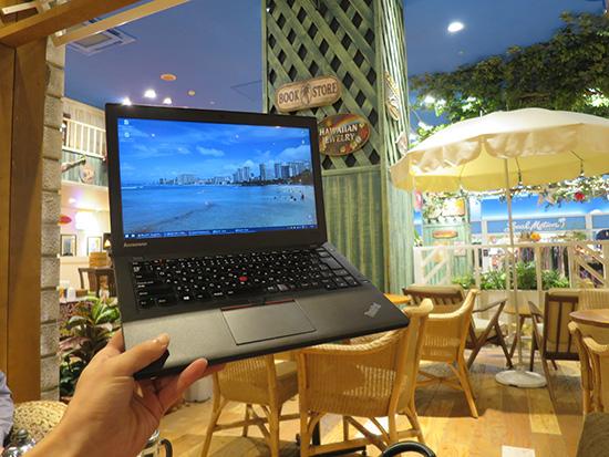 ThinkPad X250を使い始めて3ヶ月、まだまだ元気です