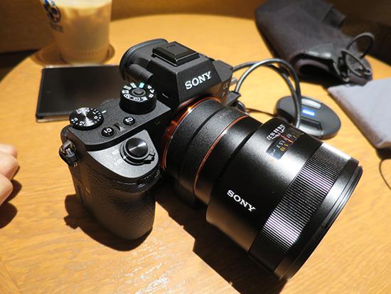 ソニー 一眼レフα7S II 単焦点レンズ50mm