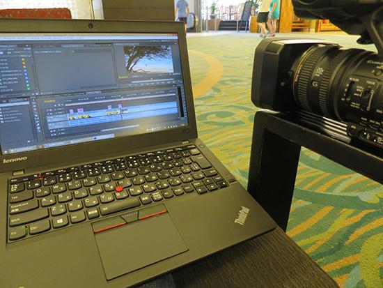 ノートパソコンで動画編集が当たり前の時代に